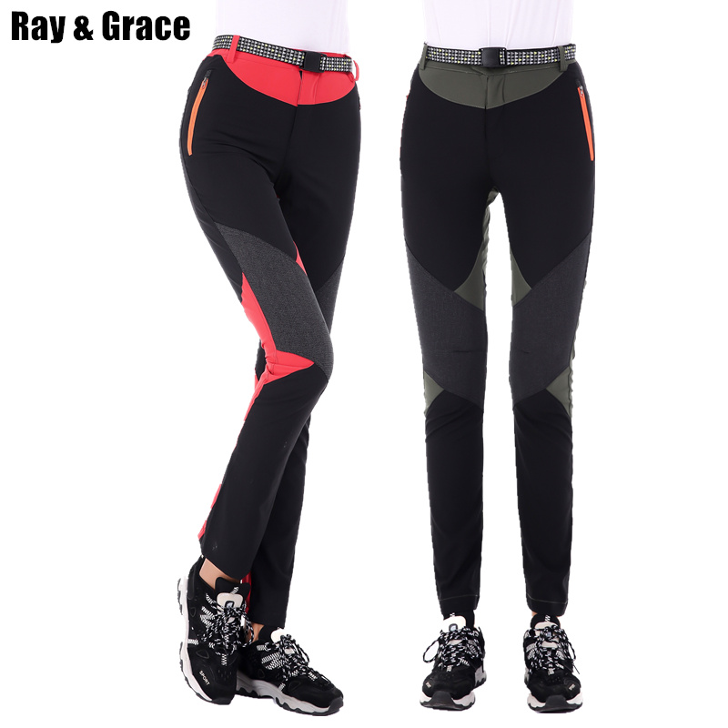 631b4e38edc9 RAY GRACE Outdoor Trekking Hiking Pants Women Sports Trousers Women s  Waterproof Breathable Lightweight Pants Tourism Summer -in Hiking Pants  from Sports ...