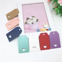 Mini-Sling-Card Label Cake Bread-Price-Card Wedding-Notes Baking DIY 5x3cm 50pcs Multi-Color