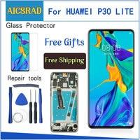 6.15 Origina LCD For HUAWEI P30 Lite Display Touch Screen Digitizer Replacement Nova 4e MAR L01A MAR LX1M MAR LX1A MAR L21A