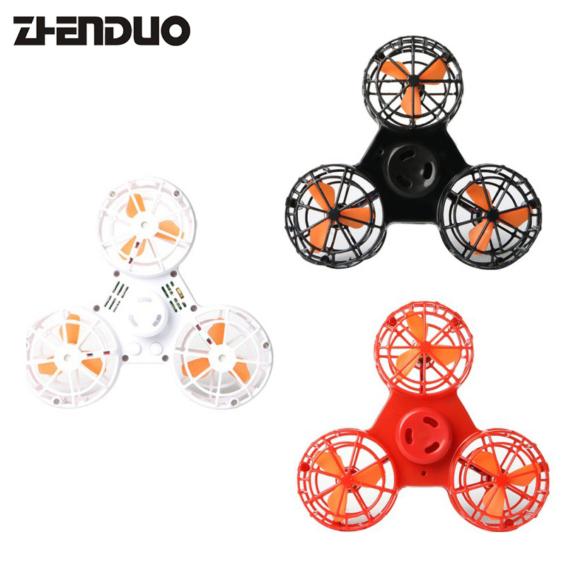 Fidget Spinner Stress Relief Toy Mini Flying Fidget Spinner Hand Flying Spinning Top Autism Anxiety Stress Release Toy Great Funny Gift Toys For Children