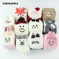 [EIOISAPRA]Cute Cartoon Animal Funny <font><b>Socks</b></font> Women Thicken Coral Cashmere Christmas Gift Sokken Girl 3D Bear Ladies Warm <font><b>Socks</b></font>