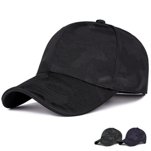 New Spring and autumn new camouflage baseball cap outdoor leisure simple visor male and female golf hat free sjipping summer and autumn male caps sunscreen long brim man baseball cap outdoor fishing hat leisure stroll visor