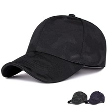 Spring and autumn new camouflage baseball cap outdoor leisure simple visor  male and female golf hat 771b5988167