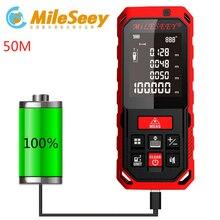 50M Laser RangeFinder Distance Meter Tape Area-volume-Angle Tester 50Meters tool Rechargeable Range Finder