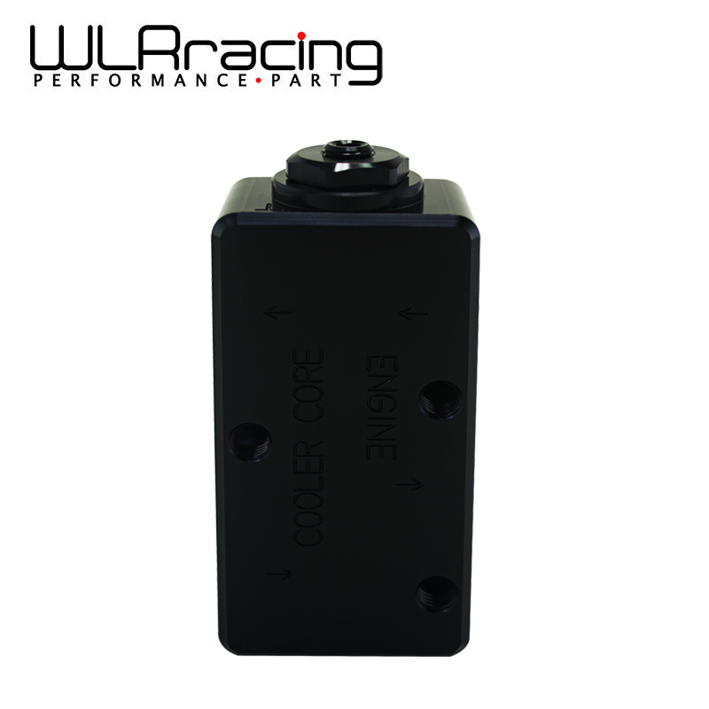 WLR RACING - Oil Filter Sandwich Adaptor High quality Oil filter remote block with thermostat 1xAN8 4xAN10 ORB FEMALE WLR6748 wlring oil filter sandwich adaptor for high quality oil filter remote block with thermostat 1xan8 4xan10 orb female wlr6744