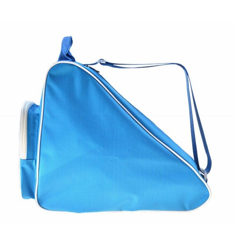 Free Shipping Roller Skates Bag Blue Color 44*34*18 Cm