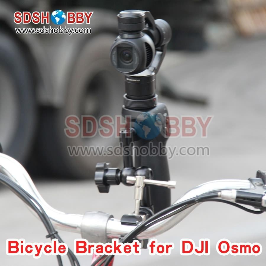 ФОТО bike/ bicycle mount bracket tripod for dji osmo(+) / osmo mobile handheld camera
