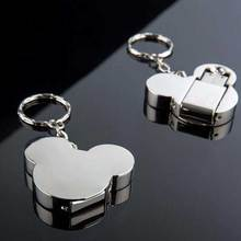 Creative Mickey Mouse head USB flash drive 16G 32G 64G 8G pen drive metal cartoon memory stick U disk