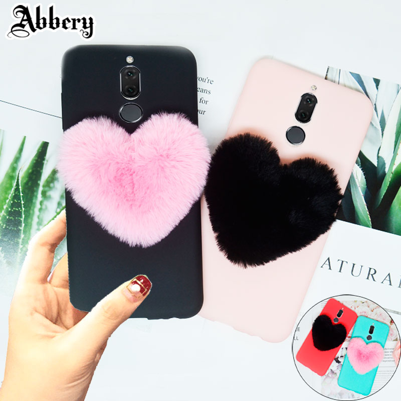 3D Love Cute Plush Soft Case for Samsung Galaxy Note 9 8 S9 S8 Plus S7