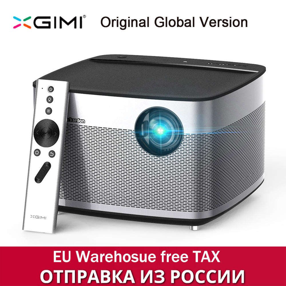 XGIMI H1 DLP Projector 1080P 900 Ansi Full HD 3D Support 4K Projector Android Bluetooth Airplay Home Theater Beamer Proyector wzatco short throw projector daylight hdmi home theater 1080p full hd 3d dlp projector proyector beamer for church hall hotel