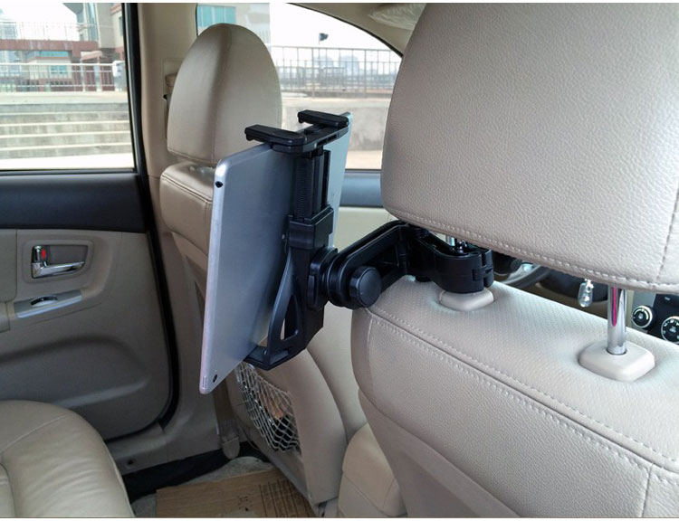 tablet holder 360 Rotating Headrest Mount PC Stand car back seat support 7'' 8'' 10.1''