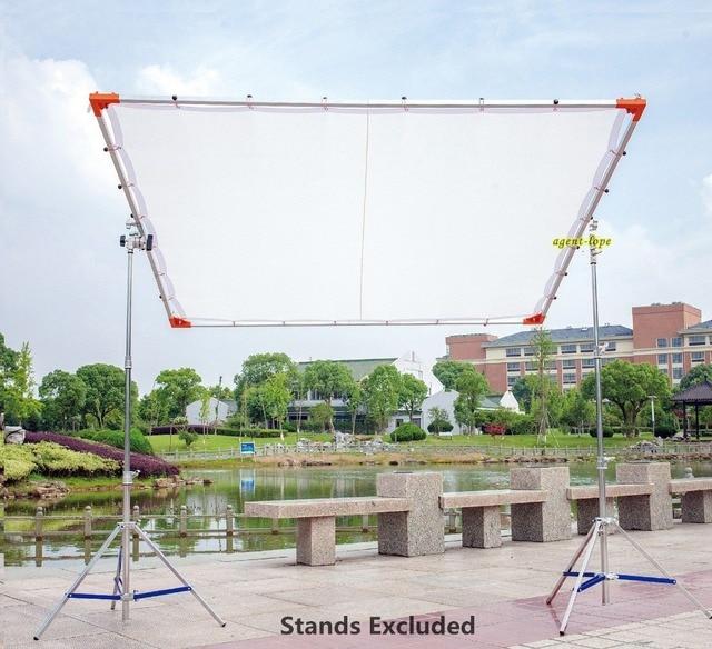 18x18m 6x6 6x6 Butterfly Frame Detachable Kit Diffusion White