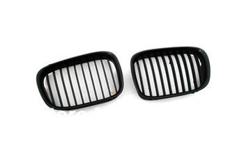 Euro Style Matte Black Front Grille For BMW E39 Pre-facelift 5 Series