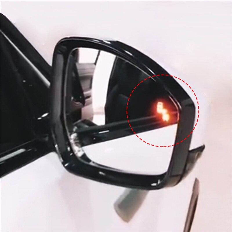 Rétroviseur latéral universel de détection d'angle mort de sécurité de capteur de Radar à micro-ondes de BSD de voiture pour des systèmes d'alarme de sport de Range Rover