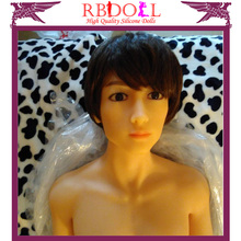 2016 new technology full body silicone male sex doll for masturbation