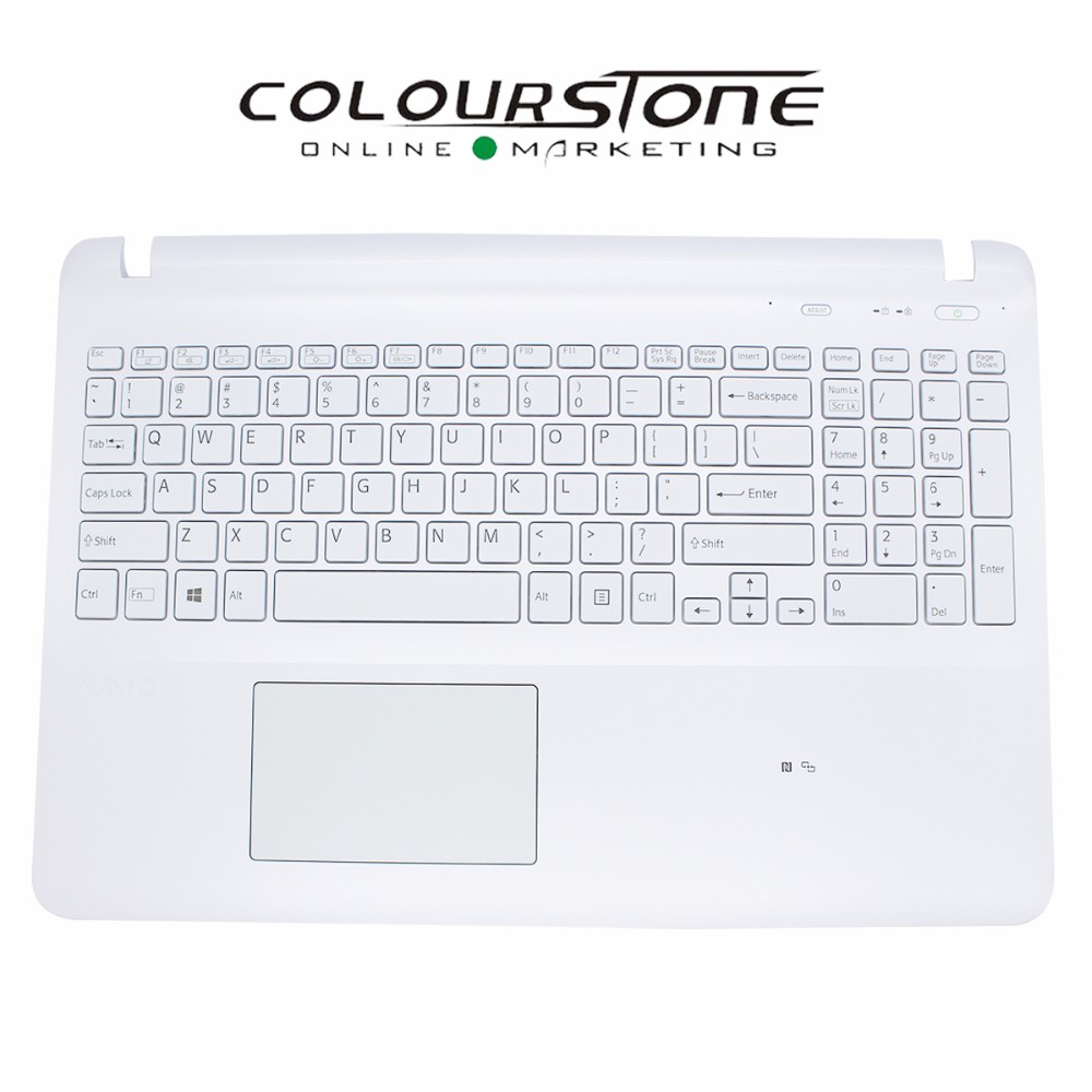 New original Install US white keyboard for SONY SVF151 WITH Touchpad and Backlit Keyboard With High Quality цена