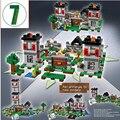 NUEVA LEPIN minecrafted serie La Fortaleza modelo Building Blocks set Classic Compatible 21127 Mi mundo juguetes para niños 18005