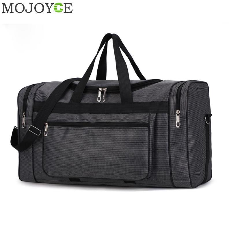 Grande capacidade de moda saco de viagem para o homem lazer viagem fitness bolsa de viagem portátil de náilon
