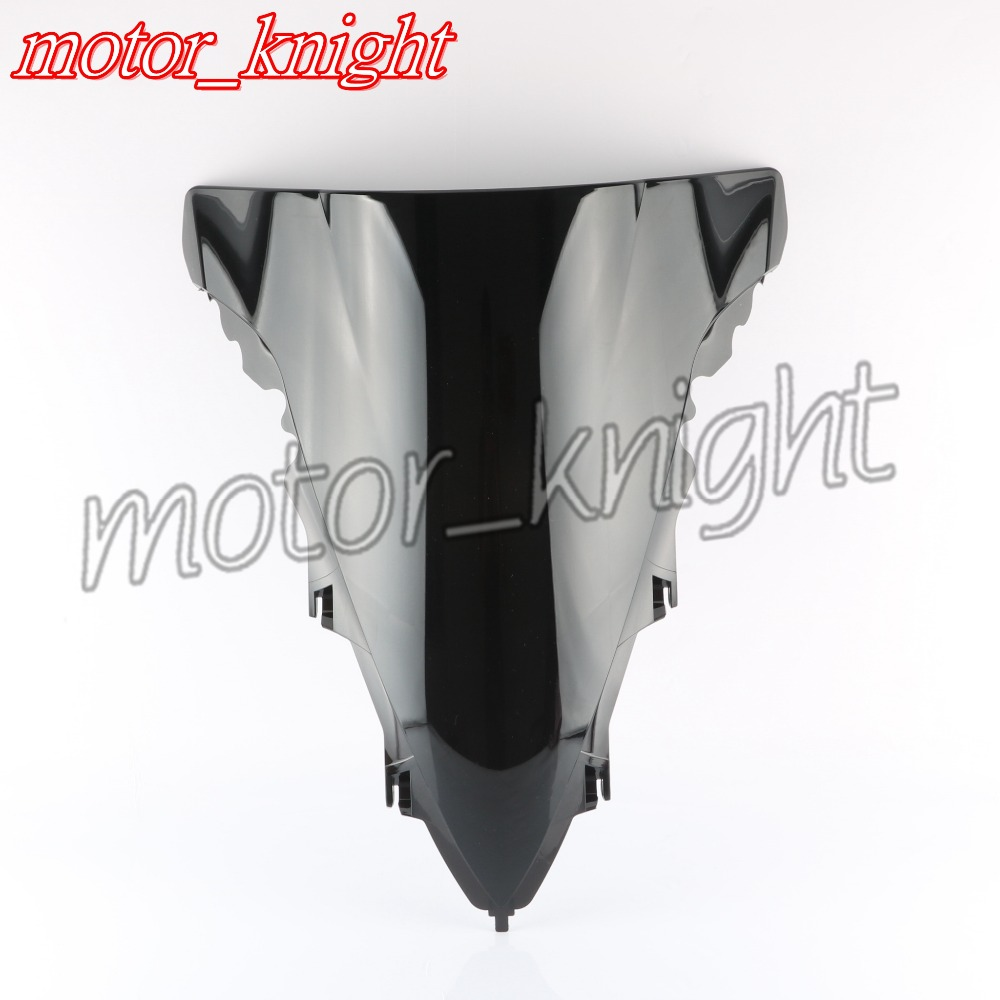New Double Bubble Windscreen Windshield ABS For Yamaha YZF R1 2009 2010 2011 2012 2013 2014 Black