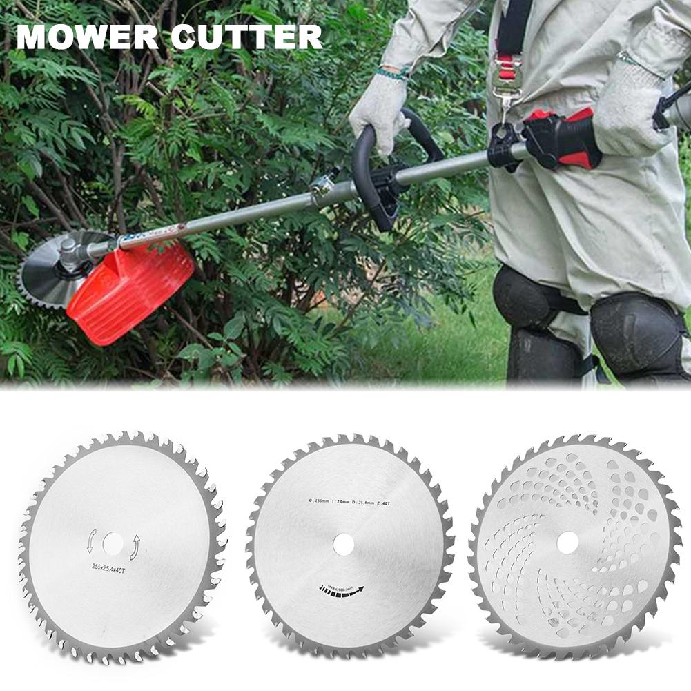 Lawn Mower Cutter 40 Tooth Alloy Saw Cutter Weeder Cutting Disc Lawn Mower Cuttermower Saw Blade Garden Tools in Tool Parts from Tools