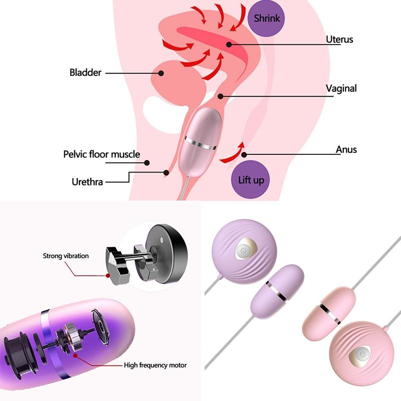 Exotic Accessories Remote Control Vibrating Love Egg Clitoris Stimulator BDSM Bondage Set Restraints Sex Toys For Woman/Couples