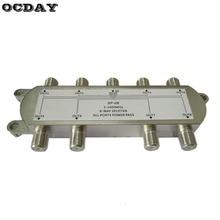 цена на SP-08 8-Way Signal Satellite Splitter TV Antenna RF Coaxial Cable Splitter Wholesale