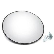 Новое 45 см широкоугольное защитное дорожное зеркало изогнутое Выпуклое для внутреннего охранного наружного дорожного движения безопасности Safurance дорожного сигнала зеркало
