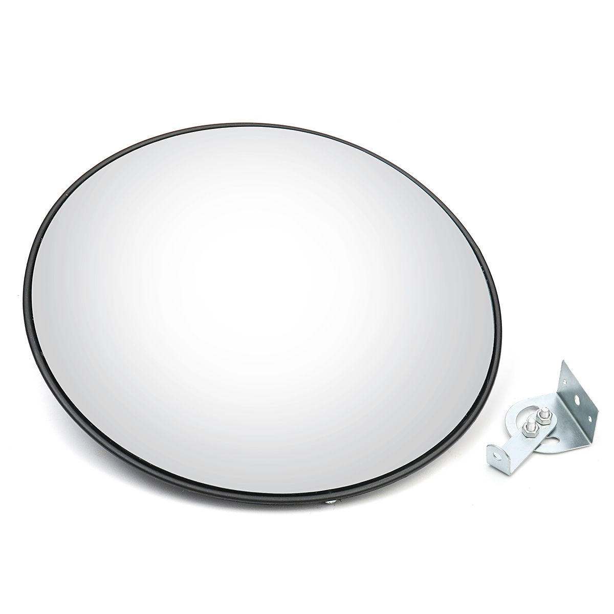 NEW 45cm Wide Angle Security Road Mirror Curved Convex For Indoor Burglar Outdoor Roadway Safety Safurance Traffic Signal Mirror
