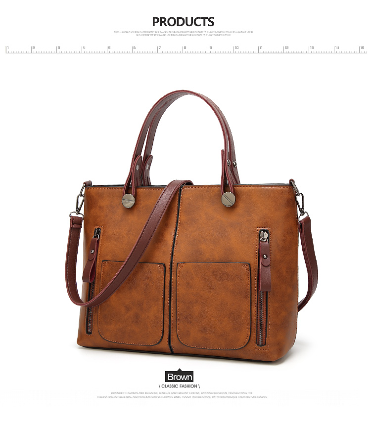 Tinkin Vintage   Shoulder Bag Female Causal Totes for Daily Shopping 7