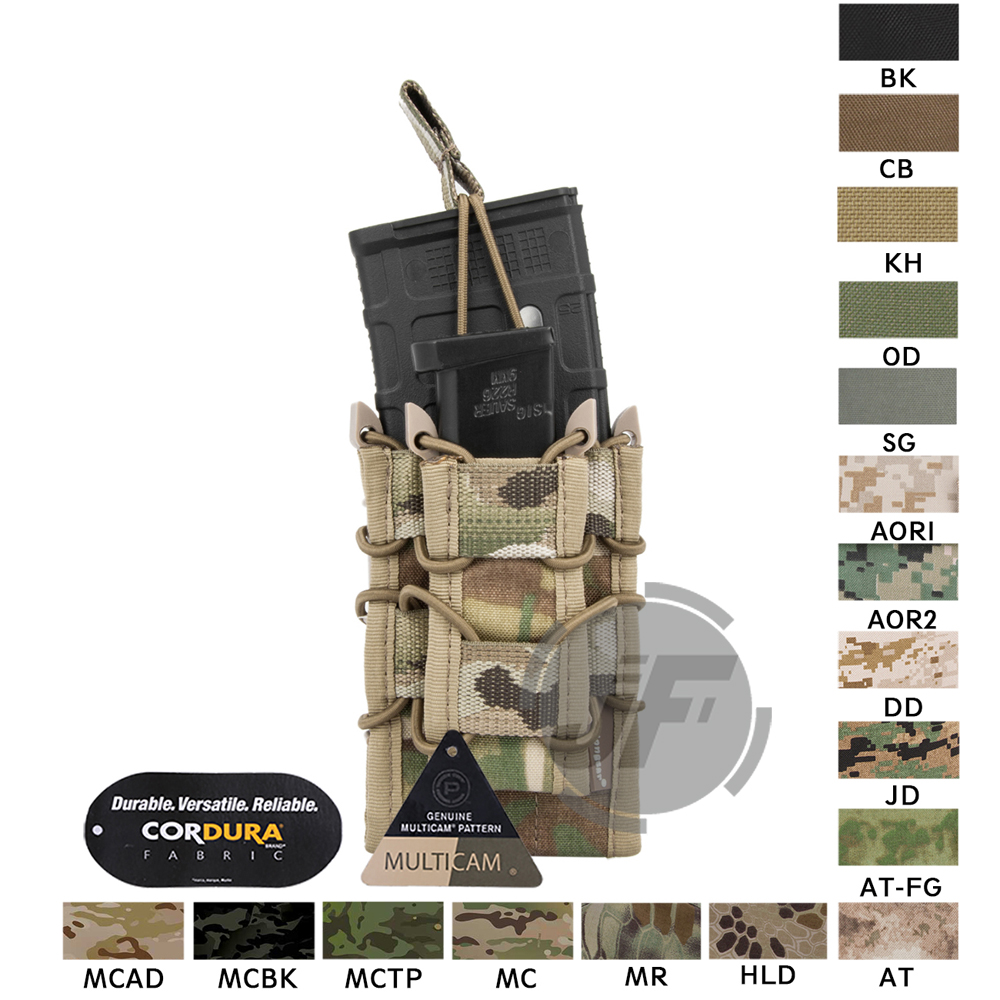 Emerson Magazine pouch Double Layer Modular 5.56 .223 & 9mm Magazine Pouch MOLLE Mag Carrier