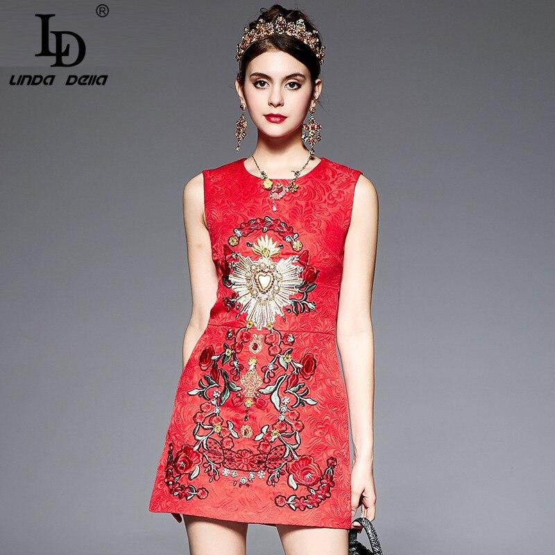 High quality new fashion runway dress women s