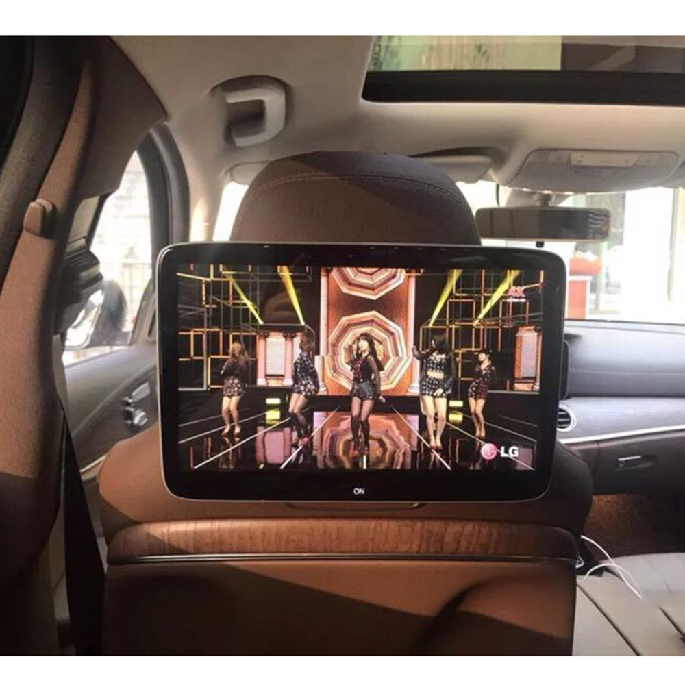 2PCS Latest OEM UI 11.6 inch Android 7.1 Car Rear Seat Entertainment Headrest Pillow DVD Players for Mercedes-benz