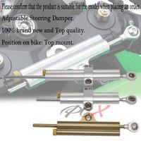 For SUZUKI GSXR GSX R 600 750 1000 HAYABUSA/GSXR1300 CNC Universal Aluminum Motorcycle Damper Steering Stabilize Safety Control
