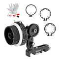 Sevenoak SK-F2X Follow Focus Pro Quick Release Dampen Follow Focus A/B Hard Stop with Gear Ring Belt for DSLR Canon Nikon A7 A7R