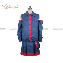 Kisstyle Fashion VOCALOID Kasane Teto Uniform COS Clothing Cosplay Costume,Customized Accepted