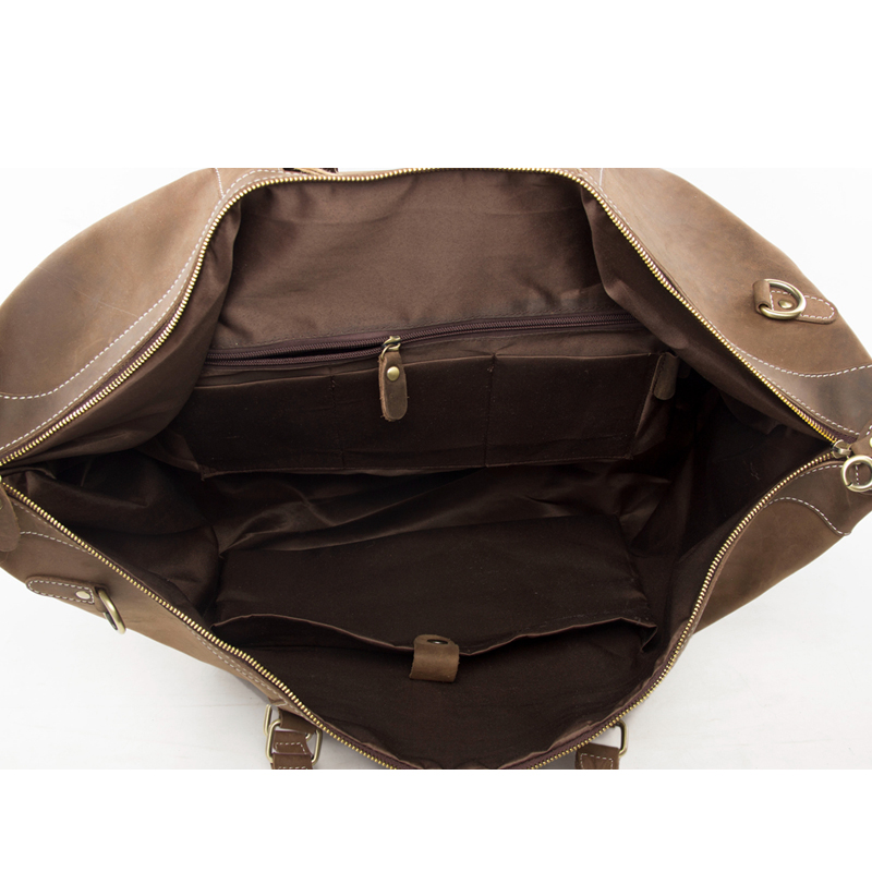 de viagem weekender duffle de Leather Travel Volume : Can Hold 17 Laptop