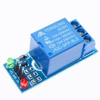 Free Shipping 1PCS 5V Low Level Trigger One 1 Channel Relay Module Interface Board Shield For