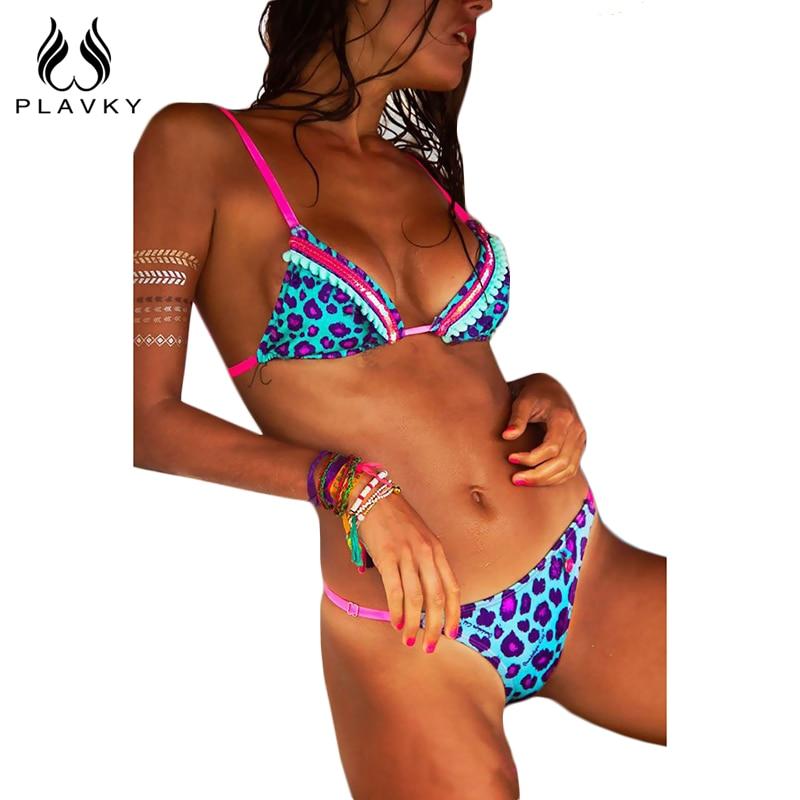 2017 Sexy Blue Pink Leopard Micro Brazilian Bikini Thong Swimsuit Halter Swim Bathing Suit Sequin Swimwear Women Push Up Bikini диван пижон принцесса pink leopard 136142