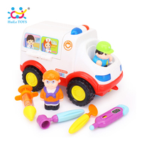 Play Basics Presents Pretend Doctor Set And Medical Kit Inside Bump And Go Toy Car With