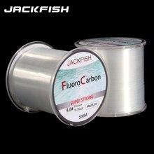 Джекфиш 500 м Фтороуглерод лески 5-30lb супер сильный бренд основной линии ясно fly леска PESCA