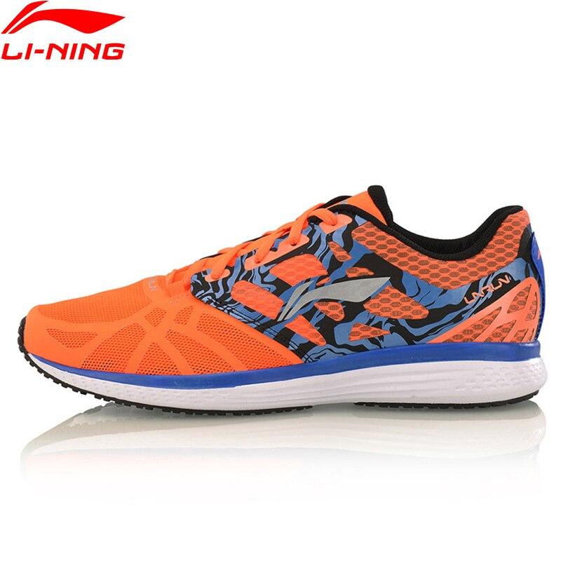 Li-Ning Speed Star Men Running Shoes Cushion Sneakers Breathable LiNing Footwear Light Weight Sports Shoes ARHM021 XYP544 original li ning men s breatnable running shoes sneakers free shipping