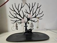 Thailand qualy Creative Antlers Jewellery Stand Deer shi pin jia Display European Jewelry Storage Rack