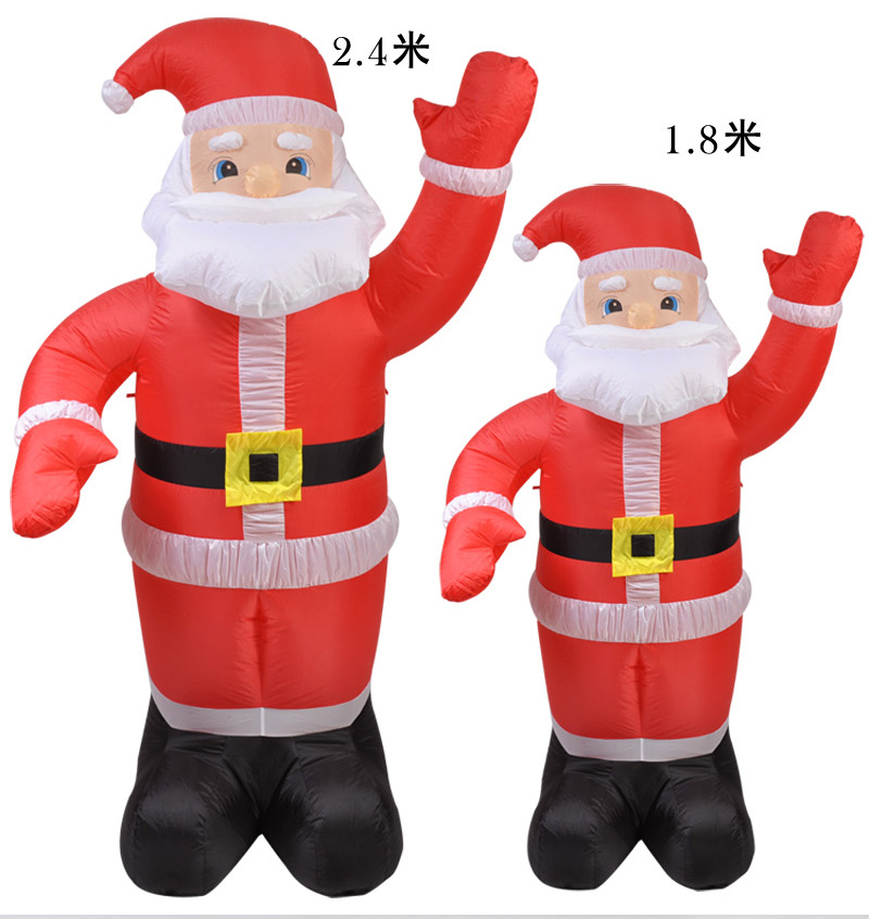 Hot Selling Newest 2019 Christmas Decorations Inflatable
