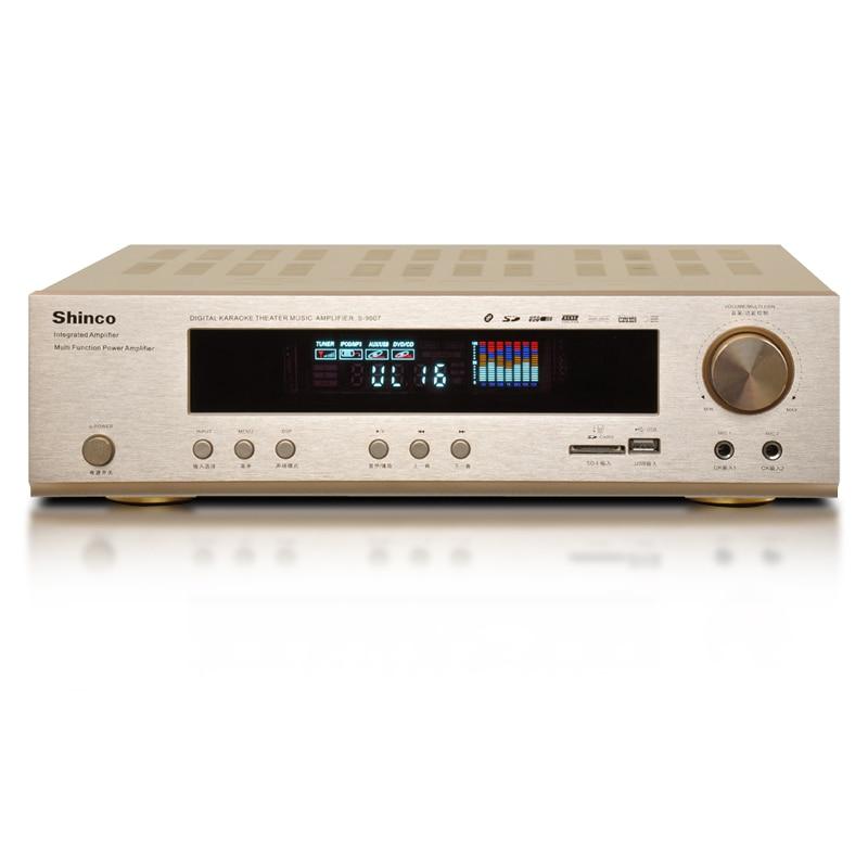 S 9007 дома 5,1 профессиональный высокое Мощность цифровой Bluetooth/USB/SD/FM/MP3 усилитель
