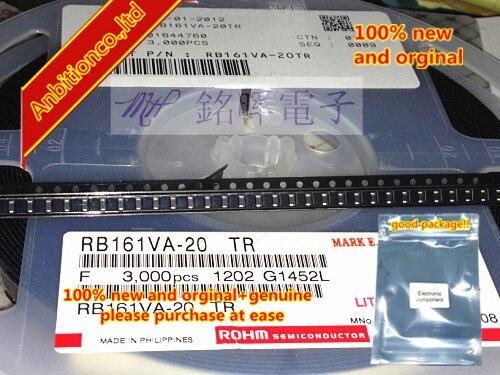 20pcs 100% New And Orginal RB161VA-20 Silk-screen X SOD-323 In Stock