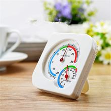 Mechanical Analog Thermometer Hygrometer -20~50C 0~100%RH Temperature Humidity Meter for Indoor Outdoor(China)