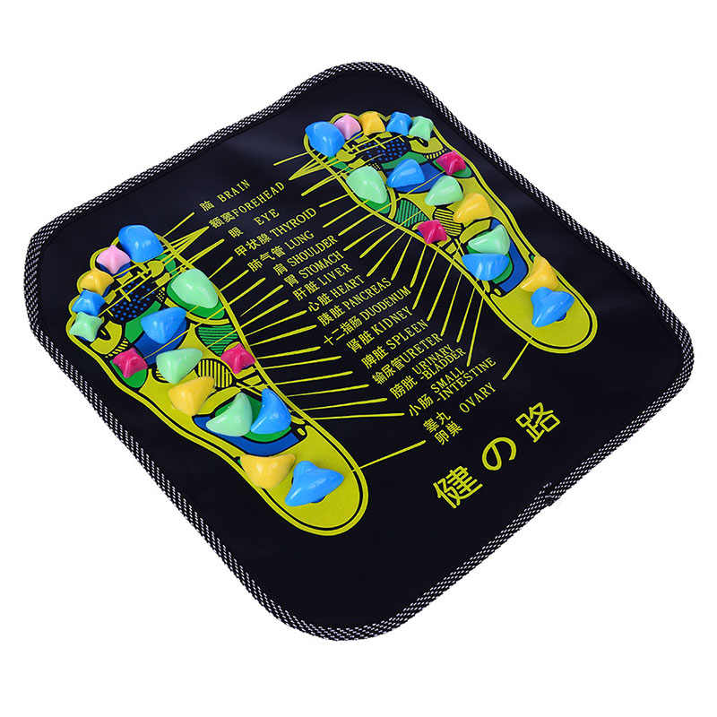 Chinese Traditional Reflexology Walk Stone Pain Relieve Foot Leg Massager Mat Health Care Acupressure High Quality