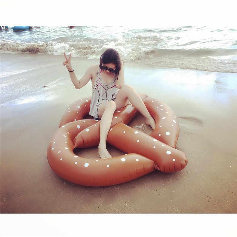 Рождественские INS пиццы надувные матрасы для плавания плот плавать ming плавать кольцо лежа Lounge игрушки для взрослых летняя водяная кровать гигантский бассейн трубка