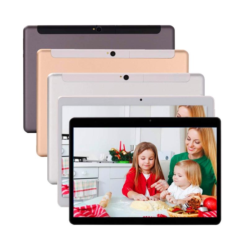 10 Inch Tablet Ten Core 4GB RAM 64GB ROM 1920*1200 IPS 2.5D Tempered Glass Dual SIM 4G Phone Call Tablet Wifi Bluetooth FM Tab