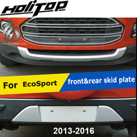 front&rear OE model bumper guard skid plate for Ford EcoSport, ABS painting, ISO9001 quality supplier, 5years SUV experiences